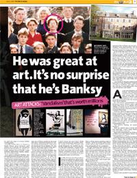 Banksy Investigation 3